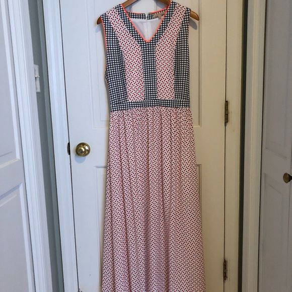 Gibson Latimer Dresses Dillards Maxi Dress Retro Print Poshmark